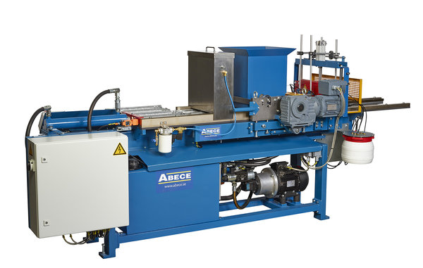 Concrete Extrusion Machine : Roof tile machines take advantage of concrete s green