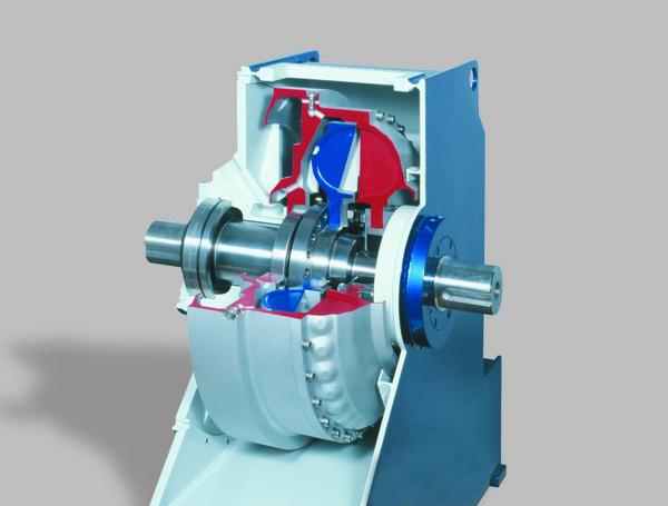 6 4 Mw Belt Conveyor Powered By Voith S 1000th Tpkl Fluid