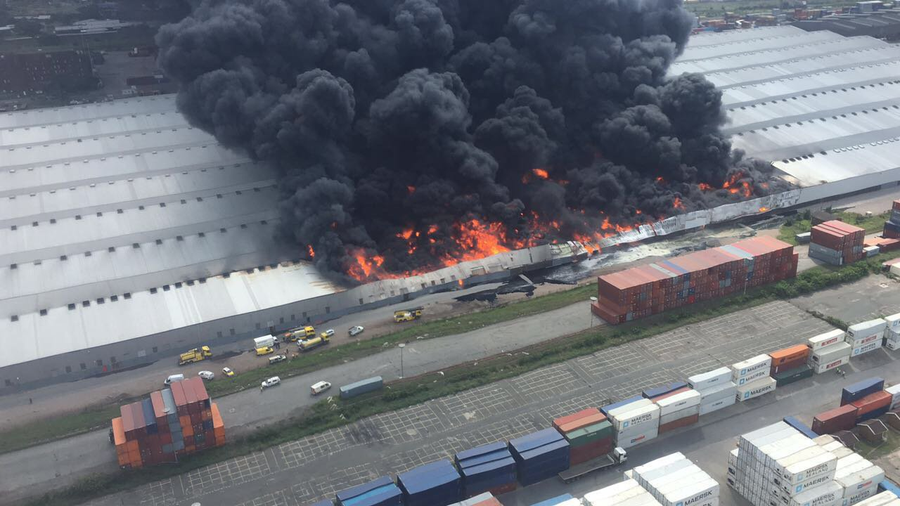 Durban factory inferno raises importance of fire detection