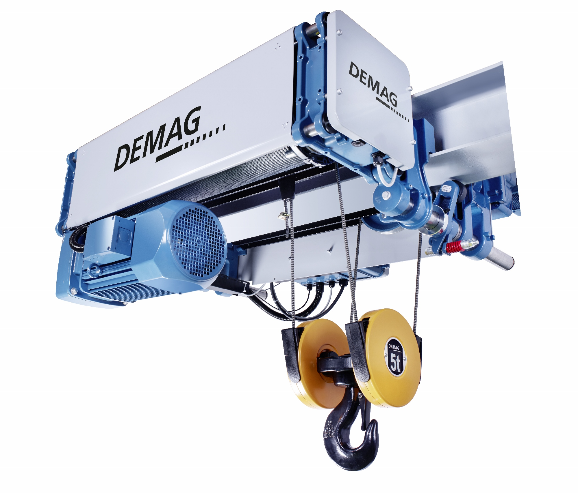 demag launches dmr modular rope hoist for diverse. Black Bedroom Furniture Sets. Home Design Ideas