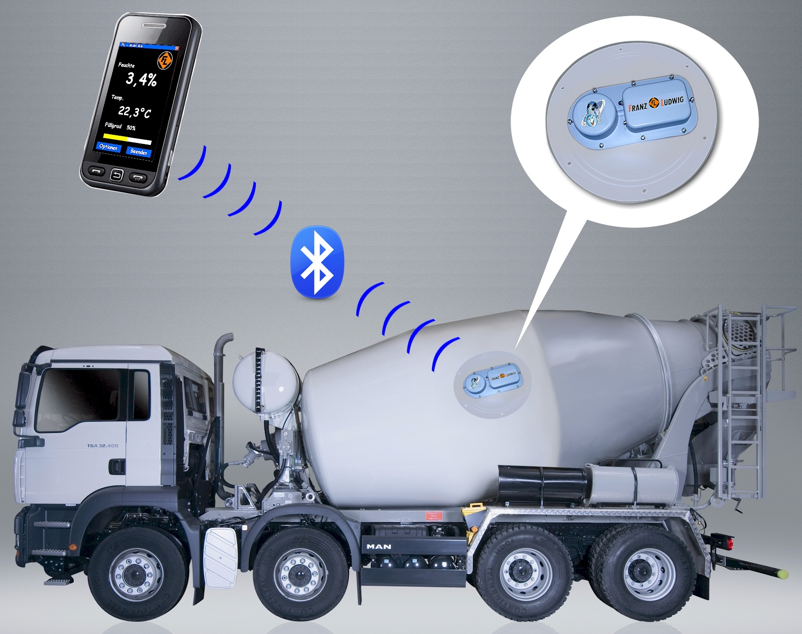 New Wireless Moisture Measurement System Improves Concrete
